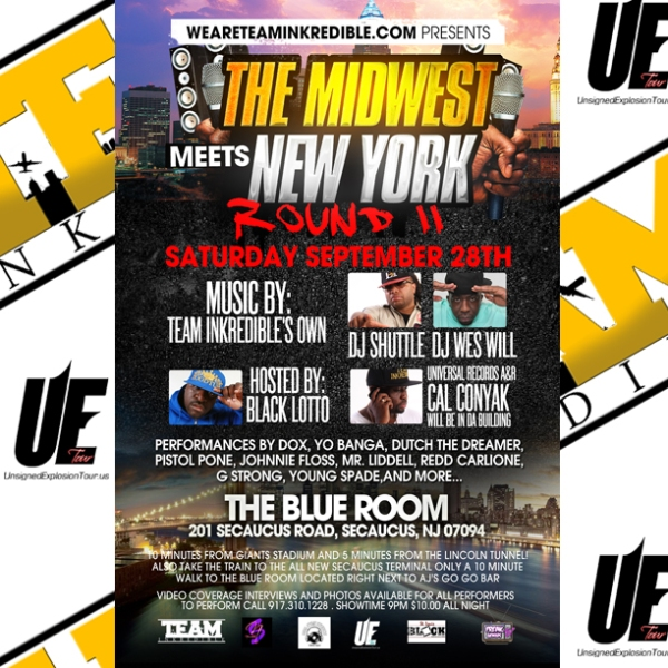 Sept 28th The Blue Room in New Jersey